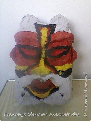 Это -маска африканских   шаманов.Африканские шаманы имеют влияние на людей  фото 4