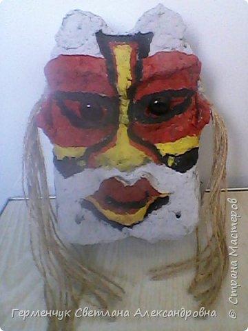 Это -маска африканских   шаманов.Африканские шаманы имеют влияние на людей  фото 5
