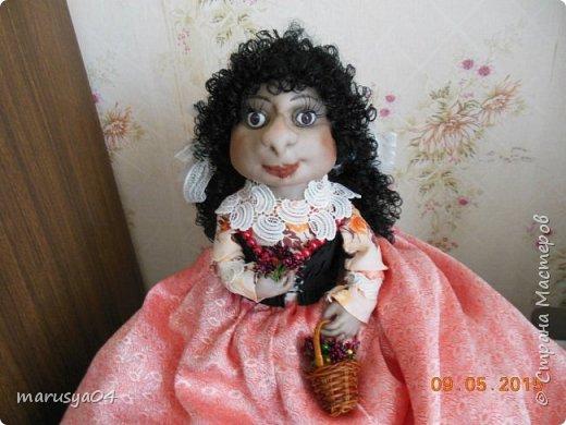 Кукла-испанка на чайник фото 2