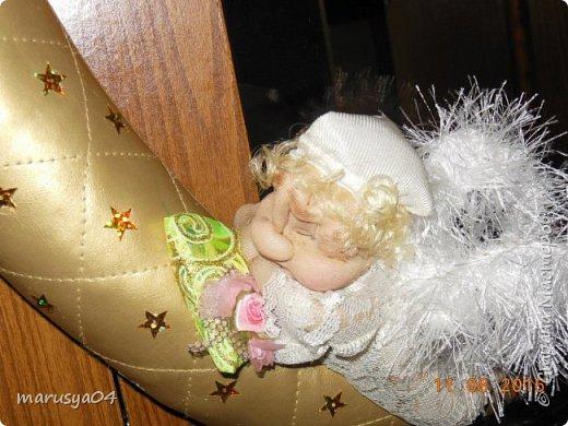 Ангелочек-сплюшка по МК Ликмы http://stranamasterov.ru/node/128550#comment-14250373 фото 1