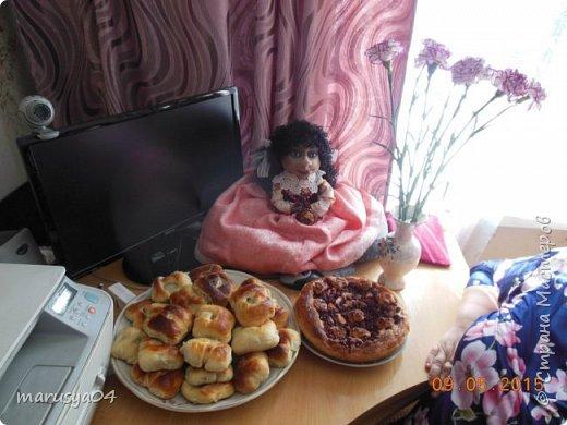 Кукла-испанка на чайник фото 4