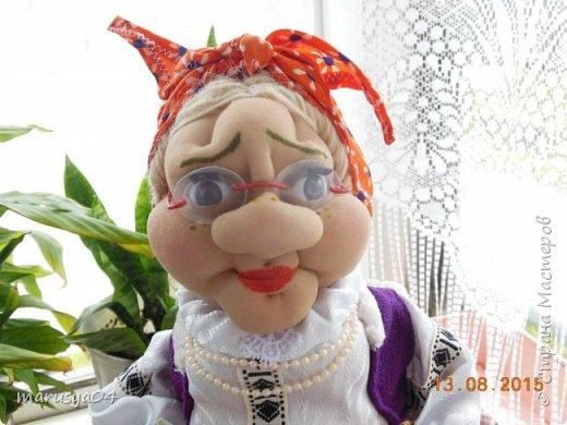 Бабушка-вязальщица на чайник фото 4