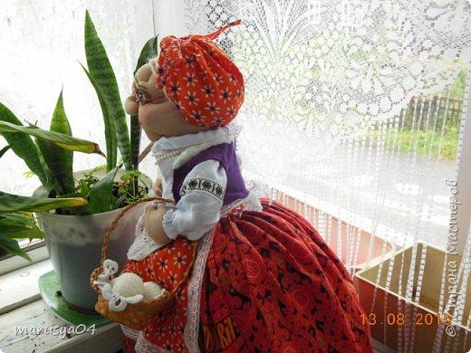 Бабушка-вязальщица на чайник фото 6