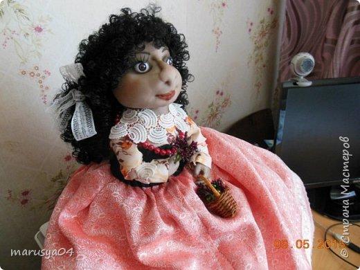 Кукла-испанка на чайник фото 3