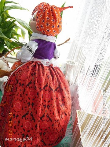Бабушка-вязальщица на чайник фото 7