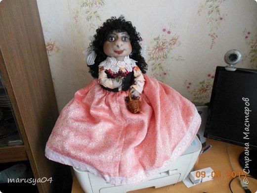 Кукла-испанка на чайник фото 1