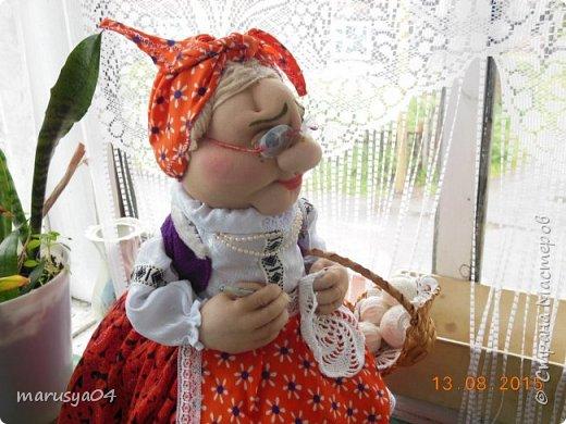 Бабушка-вязальщица на чайник фото 9