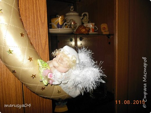 Ангелочек-сплюшка по МК Ликмы http://stranamasterov.ru/node/128550#comment-14250373 фото 12