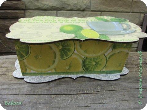 Коробочки для чайных пакетиков фото 1