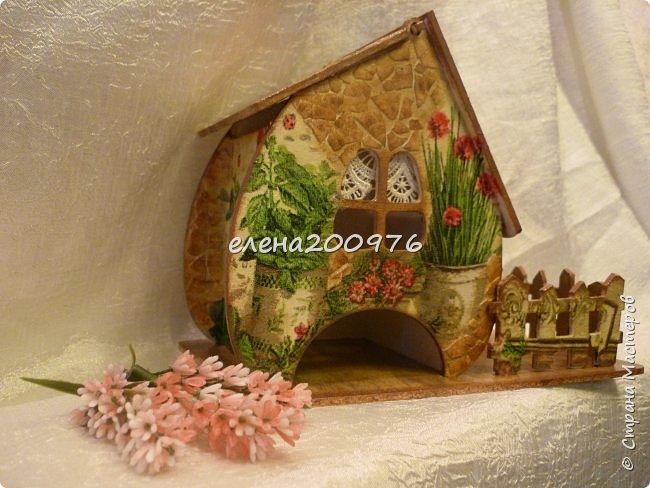 Всем привет, привет, привет. Вот и сбылась моя давняя мечта, сделать чайный домик своими руками.  фото 1