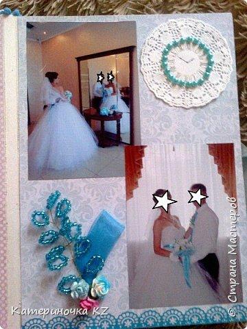 Наконец то сделала альбомчик для любимой сестренки. Свадьба была еще тем летом, а альбомчик появился буквально недавно. Смотрите что получилось. фото 3