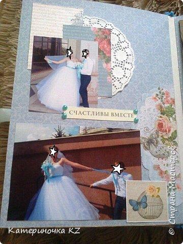 Наконец то сделала альбомчик для любимой сестренки. Свадьба была еще тем летом, а альбомчик появился буквально недавно. Смотрите что получилось. фото 4