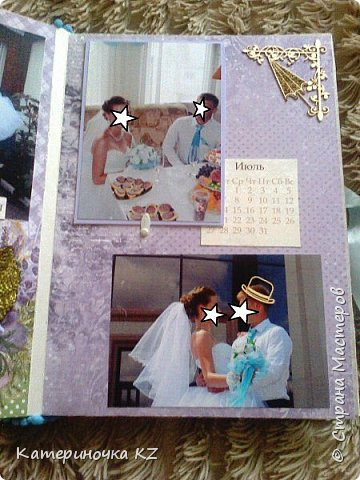 Наконец то сделала альбомчик для любимой сестренки. Свадьба была еще тем летом, а альбомчик появился буквально недавно. Смотрите что получилось. фото 7