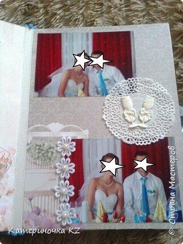 Наконец то сделала альбомчик для любимой сестренки. Свадьба была еще тем летом, а альбомчик появился буквально недавно. Смотрите что получилось. фото 9