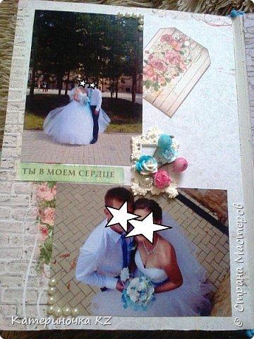 Наконец то сделала альбомчик для любимой сестренки. Свадьба была еще тем летом, а альбомчик появился буквально недавно. Смотрите что получилось. фото 10