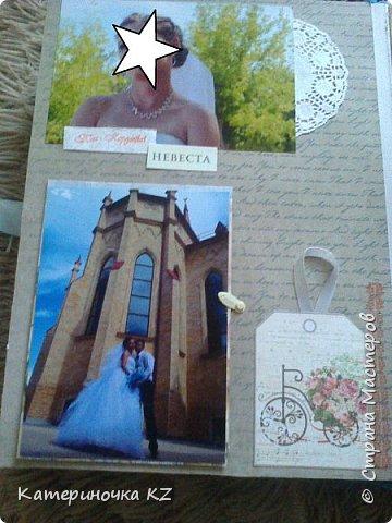 Наконец то сделала альбомчик для любимой сестренки. Свадьба была еще тем летом, а альбомчик появился буквально недавно. Смотрите что получилось. фото 12