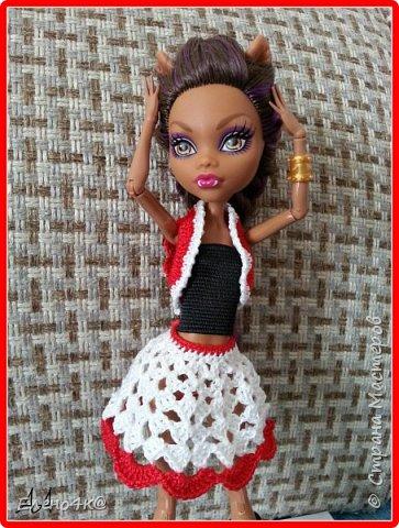 """В свое время я прочитала много статей/постов/и т.п. , посвященных куклам Monster High. Половина из них были наполнены любовью и обожанием, другая половина - отрицанием и негативом. На тот момент я занимала нейтральную позицию, считая что это просто """"не мое"""". Но я и представить не могла, что эти куколки западут мне в душу. Благодаря одному человеку, я посмотрела на этих девочек другими глазами. фото 5"""