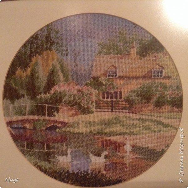 Давно вышитые картины, теперь украшают мой дом фото 1