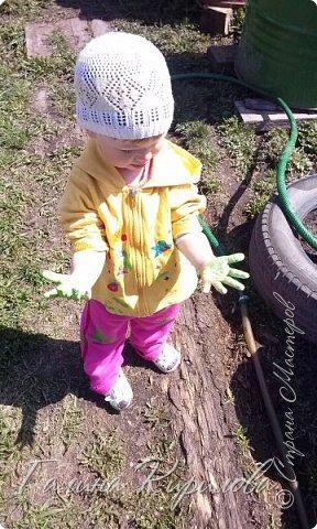 Добрый день ! Вот решила выложить свои весенние труды . Это мой двор в процессе работы . Это грядки под клубнику . фото 7