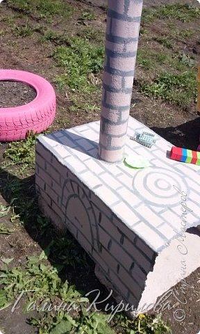 Добрый день ! Вот решила выложить свои весенние труды . Это мой двор в процессе работы . Это грядки под клубнику . фото 12