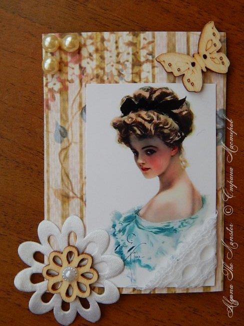 """Серия карточек на тему """"Старый чердак"""". Серия называется """"Дамы эпохи"""". Выбирают только участники игры. фото 4"""