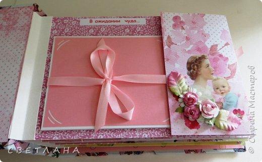 Альбомчик  для  девочки -  обложка  мягкая , американский хлопок. Небольшой  по  размеру  -  15х23 ( листы)  . 7 листов , 8 разворотов. фото 5