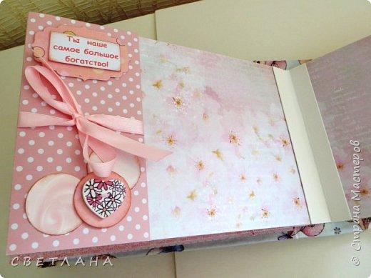 Альбомчик  для  девочки -  обложка  мягкая , американский хлопок. Небольшой  по  размеру  -  15х23 ( листы)  . 7 листов , 8 разворотов. фото 9