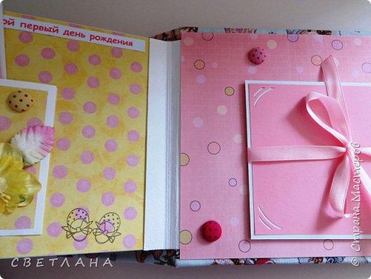 Альбомчик  для  девочки -  обложка  мягкая , американский хлопок. Небольшой  по  размеру  -  15х23 ( листы)  . 7 листов , 8 разворотов. фото 20