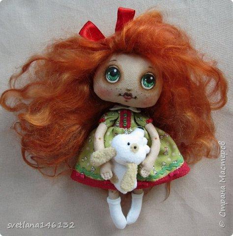Кукла с собачкой фото 1