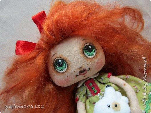 Кукла с собачкой фото 2