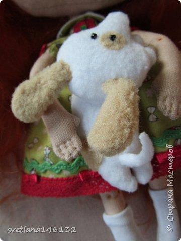 Кукла с собачкой фото 4