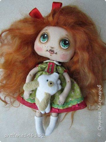 Кукла с собачкой фото 6