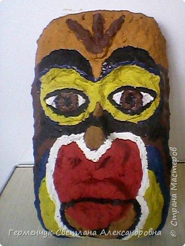 """Это-  маска индейцев.Название"""" индейцы """"возникло ошибочно,так как  европейские мореплаватели считали, что открыли Индию. фото 4"""