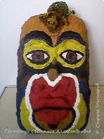 """Это-  маска индейцев.Название"""" индейцы """"возникло ошибочно,так как  европейские мореплаватели считали, что открыли Индию. фото 5"""