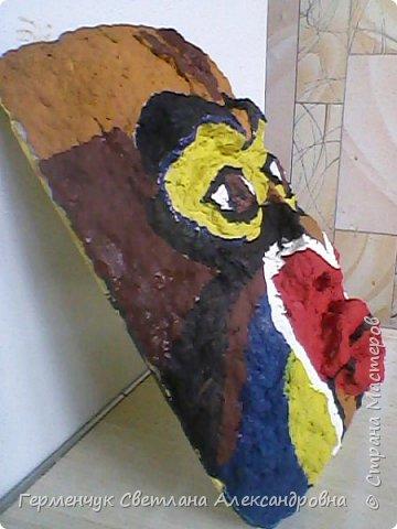 """Это-  маска индейцев.Название"""" индейцы """"возникло ошибочно,так как  европейские мореплаватели считали, что открыли Индию. фото 6"""