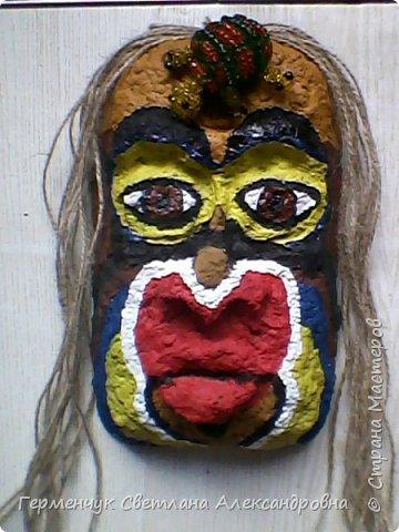 """Это-  маска индейцев.Название"""" индейцы """"возникло ошибочно,так как  европейские мореплаватели считали, что открыли Индию. фото 7"""