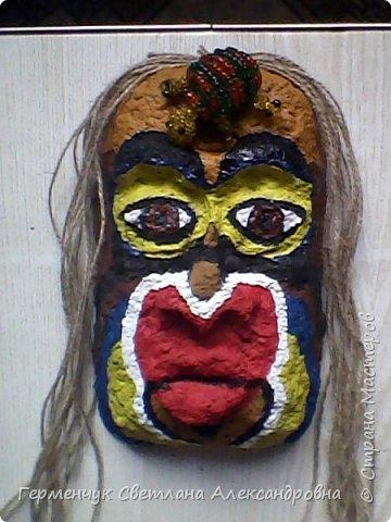 """Это-  маска индейцев.Название"""" индейцы """"возникло ошибочно,так как  европейские мореплаватели считали, что открыли Индию. фото 8"""
