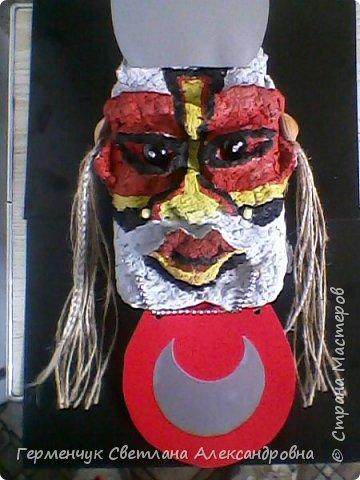 Это -маска африканских   шаманов.Африканские шаманы имеют влияние на людей  фото 8
