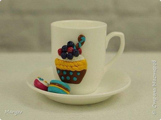 Видеоурок: Декор чайного набора полимерной глиной
