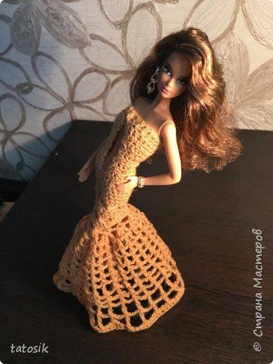 Платье для Barbie крючком фото 5