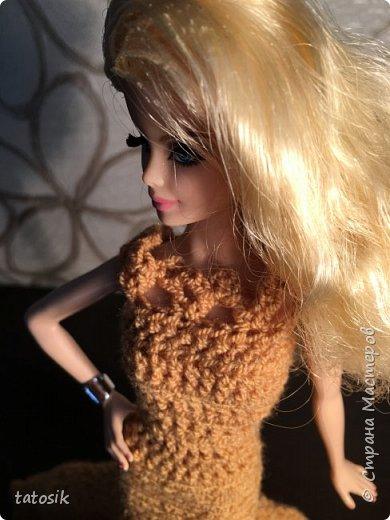 Платье для Barbie крючком фото 7