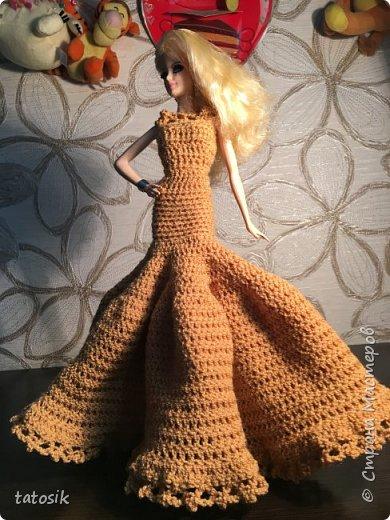 Платье для Barbie крючком фото 8