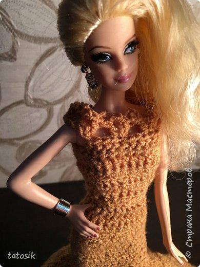 Платье для Barbie крючком фото 9
