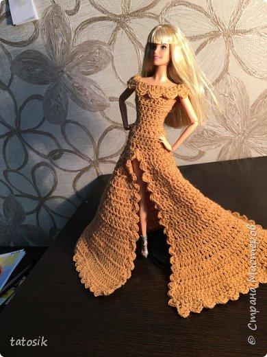 Платье для Barbie крючком фото 11