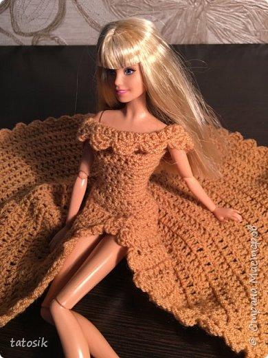 Платье для Barbie крючком фото 13
