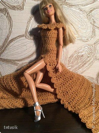 Платье для Barbie крючком фото 14