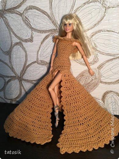 Платье для Barbie крючком фото 15