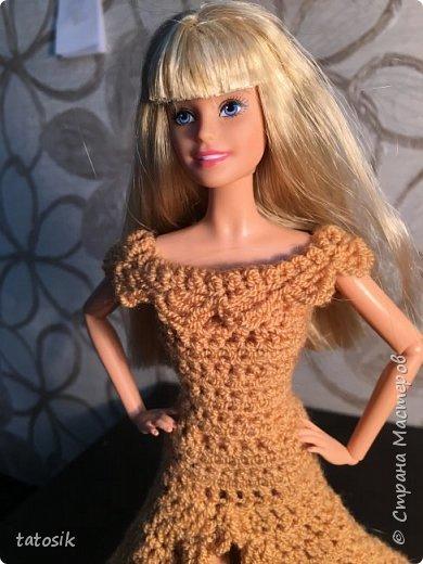 Платье для Barbie крючком фото 17