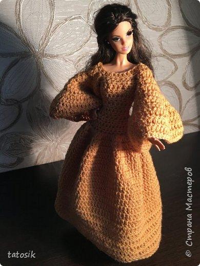 Платье для Barbie крючком фото 19