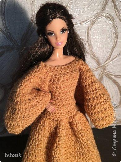 Платье для Barbie крючком фото 20